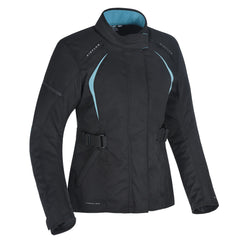 Oxford Dakota 2.0 Ladies Textile Jacket - Black / Baby Blue