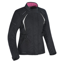 Oxford Dakota 2.0 Ladies Textile Jacket - Black / White