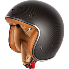 Spada Darkstar Carbon Open Face Helmet - Tan