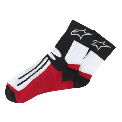 Alpinestars Short Road Racing Motorcycle Socks - Ideal for Street Boots - ALPINESTARS -  - MSG BIKE GEAR