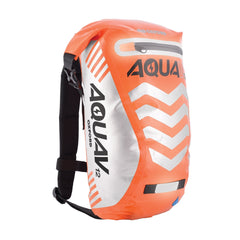 Oxford Aqua V 12 Visible Waterproof Cycling Motorcycle BackPack 12 Litres Orange - Oxford -  - MSG BIKE GEAR