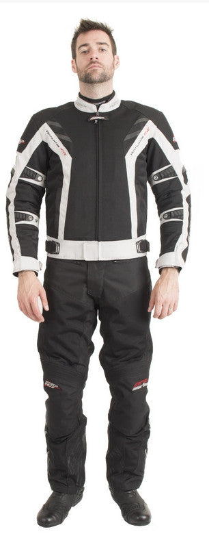 RST PRO SERIES 1702 VENTILATOR V MENS TEXTILE MOTORCYCLE JACKET SILVER - RST -  - MSG BIKE GEAR - 1