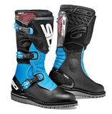 Sidi Trial Zero 1 Trials Bike Dirt Off Road Motorcycle Boots Black/Light Blue - Sidi -  - MSG BIKE GEAR - 1