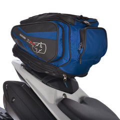 Oxford T30R Motorbike Motorcycle Tail Pack - 30 Litres + Rain Cover Blue - Oxford -  - MSG BIKE GEAR