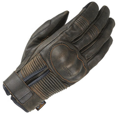 Furygan James D30 CE Approved Men's Leather Motorcycle Gloves - Black - Furygan -  - MSG BIKE GEAR - 1