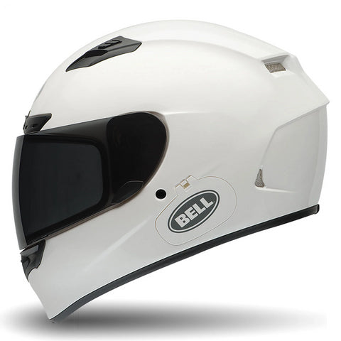 Bell Street Qualifier DLX Adult Motorcycle Helmet (Solid White) - Bell Helmets -  - MSG BIKE GEAR - 1