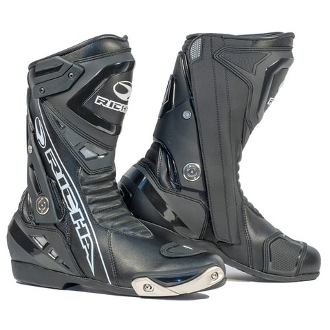 Richa Blade Waterproof Motorcycle Boots Black - Richa -  - MSG BIKE GEAR