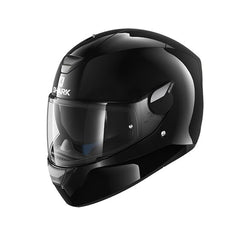 Shark Dark D-Skwal Full Face DVS Motorbike Motorcycle Helmet - Blank Black - Shark -  - MSG BIKE GEAR - 1