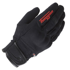 Furygan Jet Evo ii 2 Men's Short Textile Summer Motorcycle Gloves Black Red - Furygan -  - MSG BIKE GEAR - 1