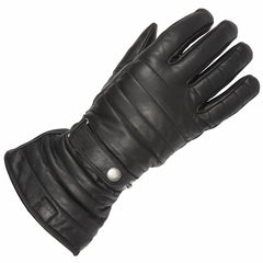 Spada Gaunlet WP Motorcycle Motorbike Leather Waterproof Gloves - Black - Spada -  - MSG BIKE GEAR - 1