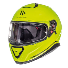 MT Thunder 3 SV Solid Full Face Helmets - Fluo Yellow
