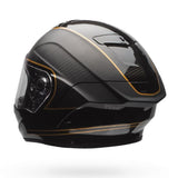 Bell Race Star Full Face Helmet - Check Matt Black/Gold