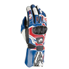 Furygan FIT-R Leather Racing Sports Gloves - Union Jack UK