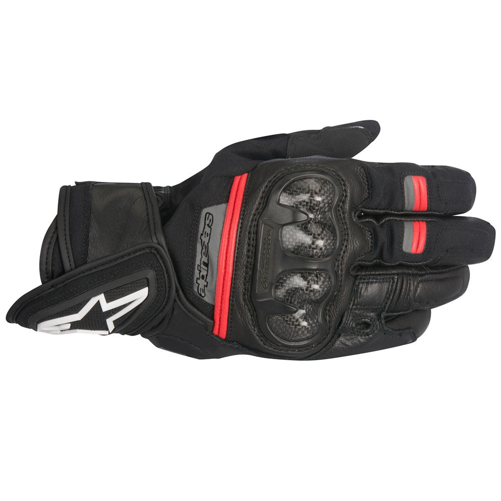Alpinestar Rage Drystar Waterproof Gloves - Black / Red