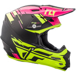 Fly 2018 F2 Carbon Mips Forge MX Helmet - Pink / Black / Hi-Viz