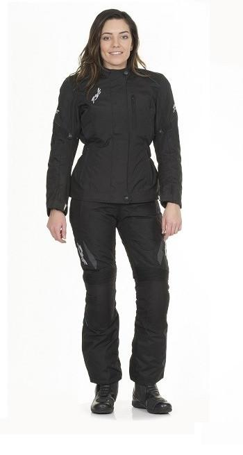RST BROOKLYN II 1554 LADIES WATERPROOF TEXTILE MOTORCYCLE JACKET BLACK - RST -  - MSG BIKE GEAR