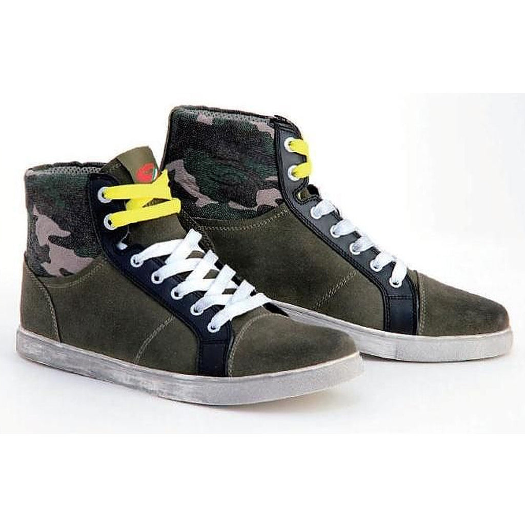 SIDI INSIDER URBAN STREET MOTORCYCLE SCOOTER CAMOUFLAGE RIDING SHOES BOOTS - SIDI -  - MSG BIKE GEAR