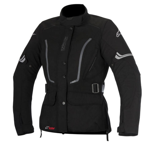 Alpinestars Stella Vence Drystar Ladies Textile Motorcycle Jacket - Black - Alpinestars -  - MSG BIKE GEAR - 1