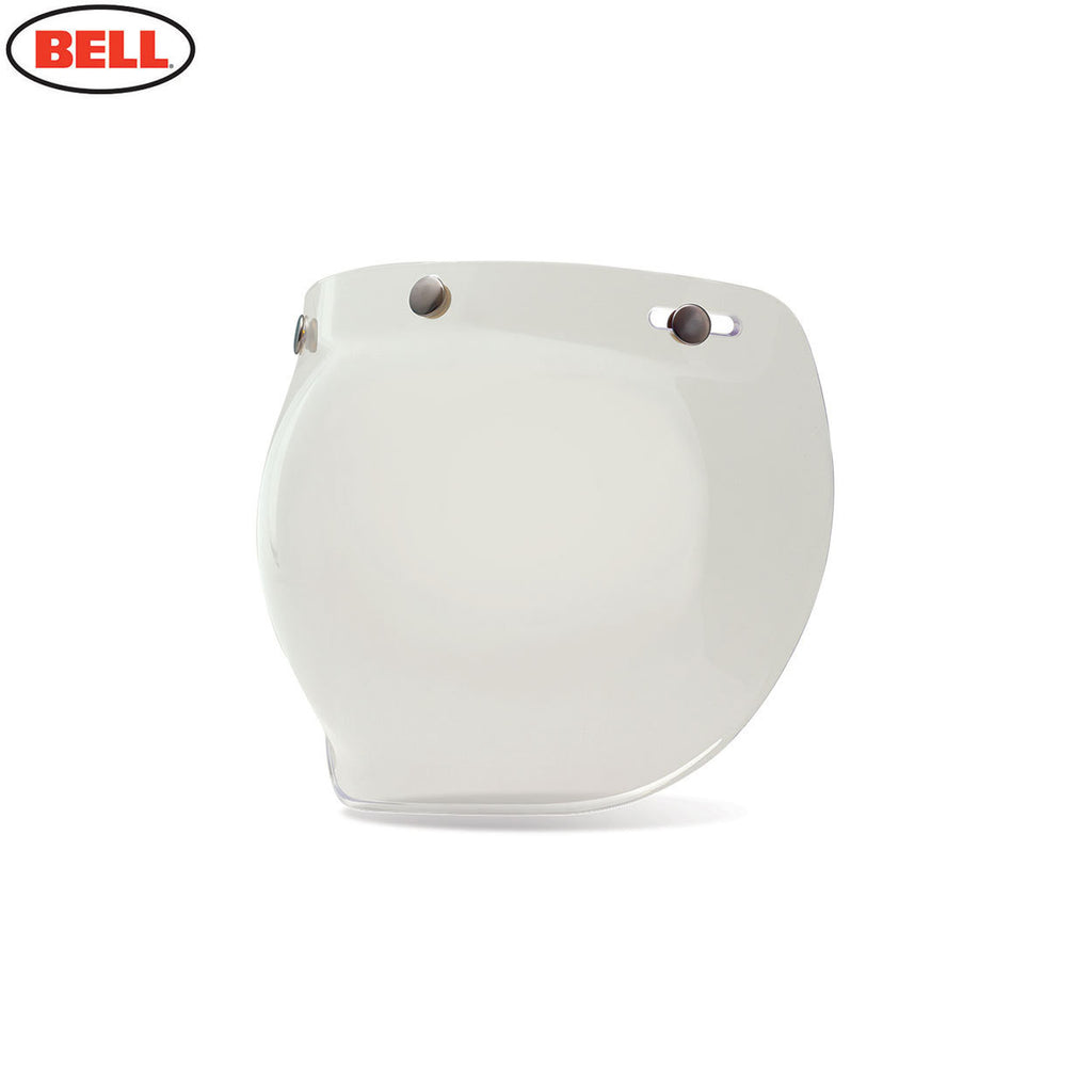 Bell Custom 500 3-Snap Bubble Motorcycle Helmet Sield / Visor - Clear - Bell Helmets -  - MSG BIKE GEAR