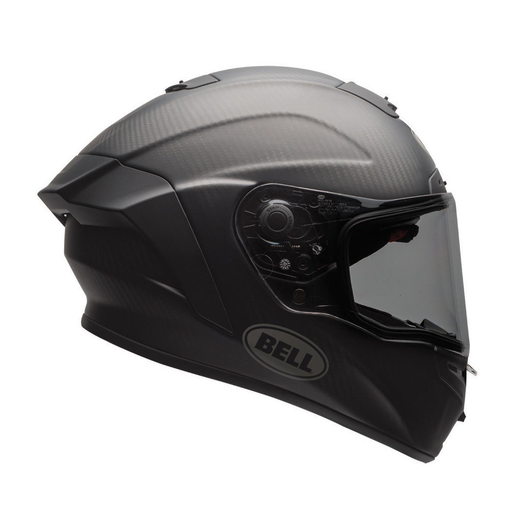 Bell Street 2017 Race Star Full Face Motorcycle Helmet - Solid Matt Black - Bell -  - MSG BIKE GEAR - 1