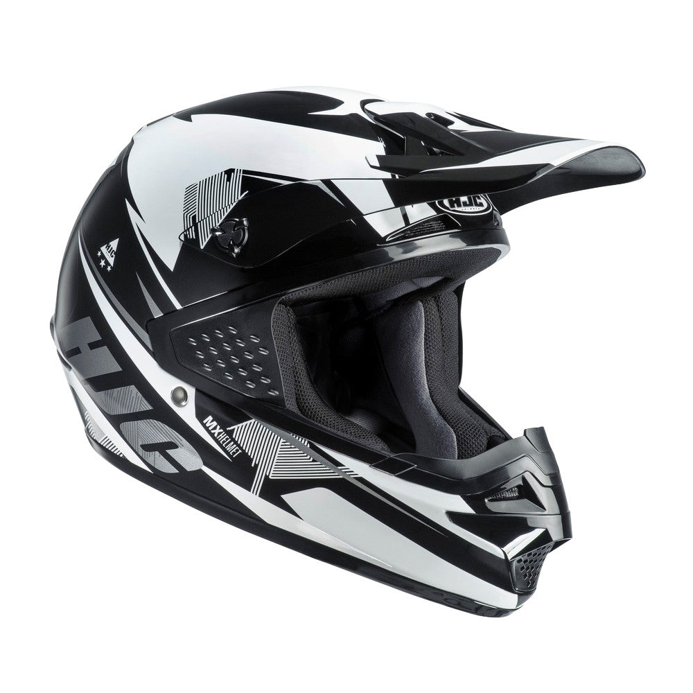 HJC CS-MX Enduro Off Road Motocross MX Helmet Kenta MC5 Black White - HJC -  - MSG BIKE GEAR - 1