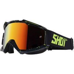 "Shot 2018 ""Iris Scratch"" Goggles - Black / Neon Yellow"