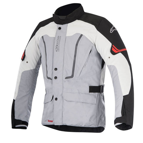 Alpinestars Vence Drystar Waterproof Motorbike Motorcycle Jacket - Grey/Black - Alpinestars -  - MSG BIKE GEAR - 1