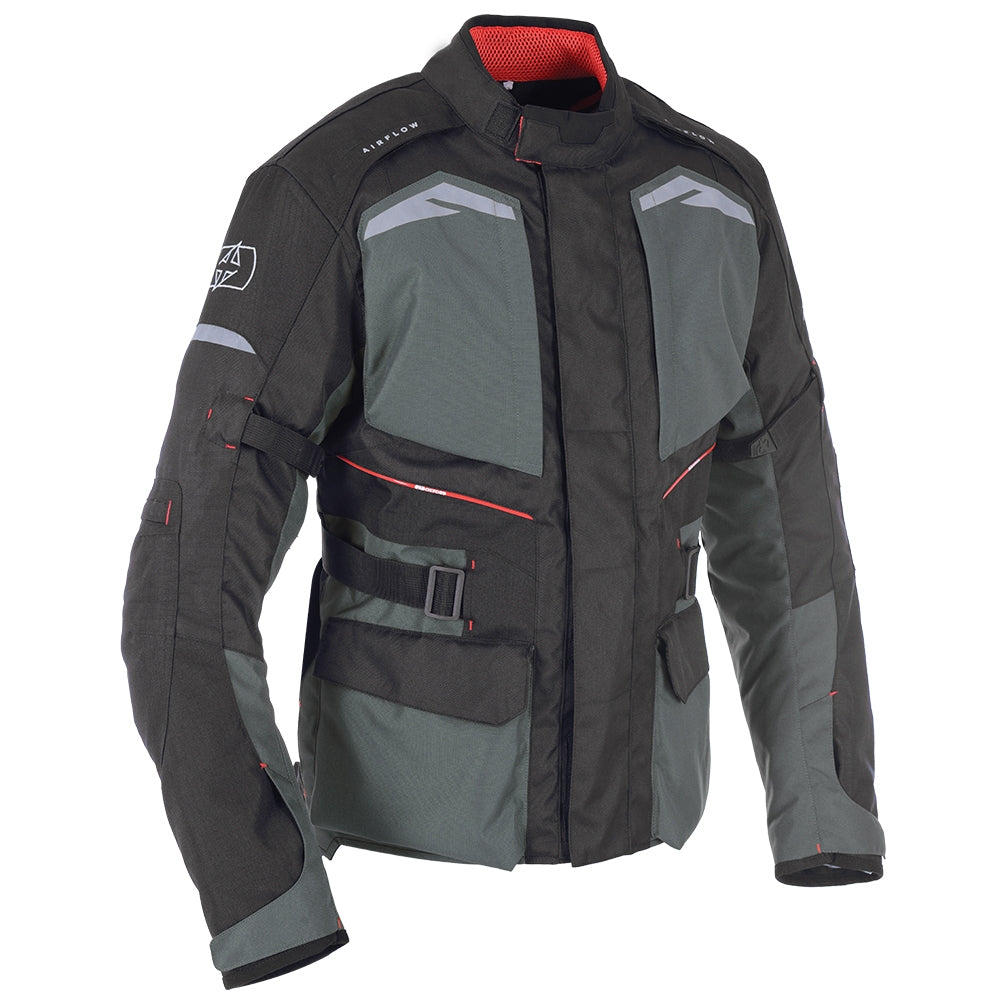 Oxford Quebec 1.0 Waterproof Textile Jacket - Tech Grey