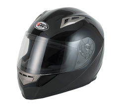 Vcan V158 Full Face Helmet - Gloss Black