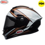 Bell 2018 Star MIPS Helmet - Torsion Copper / White / Black