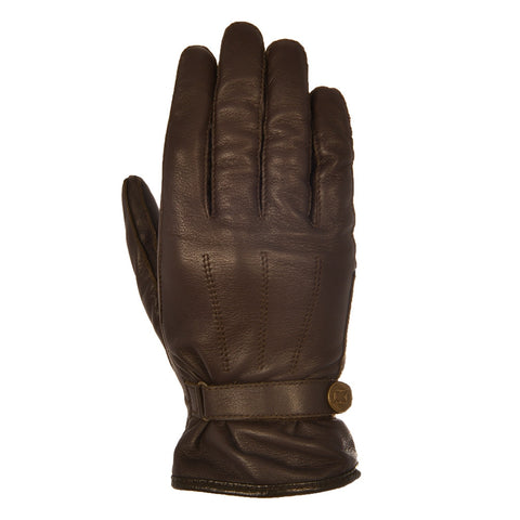 Oxford Holton Classic Short Leather Gloves - Brown