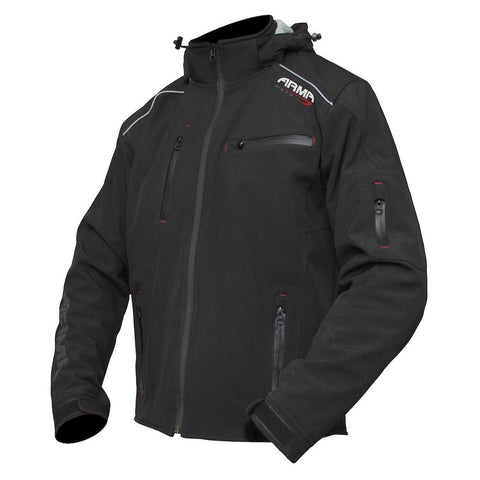 ARMR Sukuta Textile Motorcycle Jacket - Black