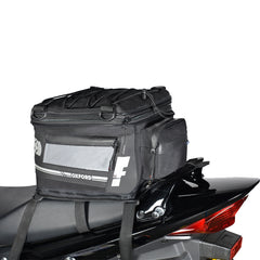 Oxford Luggage F1 35 Litres Expandable Tail Pack - Black