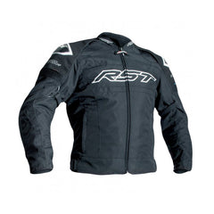 RST 2048 Tractech Evo R Waterproof Textile Jacket - Black