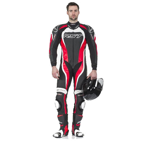 RST TRACTECH EVO II 1415 LEATHER SPORTS TRACK MOTORCYCLE SUIT RED - RST -  - MSG BIKE GEAR