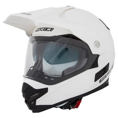 SPADA INTREPID PEARL WHITE MOTORCYCLE HELMET - Spada -  - MSG BIKE GEAR - 1