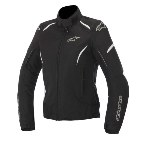 Alpinestars Stella Gunner Ladies Waterproof Motorcycle Jacket - Black/White - Alpinestars -  - MSG BIKE GEAR - 1