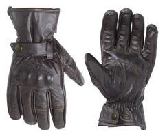 RST 2143 Roadster II Vintage Leather Gloves - Brown
