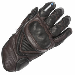 Spada Summer Sled Dog Motorcycle Motorbike Leather Waterproof Gloves - Brown - Spada -  - MSG BIKE GEAR - 1