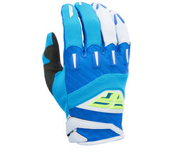Fly Racing 2017 F-16 Motocross Gloves - Blue / Hi Vis Yellow