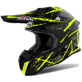Airoh Terminator Open Vision Helmet - Carnage Yellow