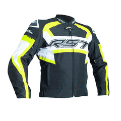 RST 2048 Tractech Evo R Waterproof Textile Jacket - Black / Yellow