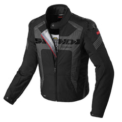 Spidi Warrior H2Out WP Textile Jacket - Black