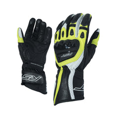 RST 2085 R-18 Leather Sports Gloves - Yellow