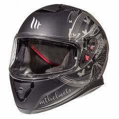 MT Thunder 3 SV Vlinder Full Face Helmets - Matt Grey/Black