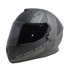 MT Thunder 3 SV Kingdom Full Face Helmets - Matt Black/Grey