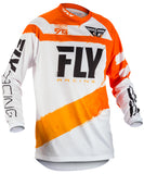 Fly Racing 2018 F-16 MX Jersey - Orange / White