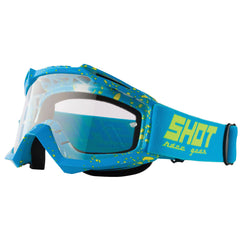 "Shot 2018 ""Assault Drop"" Goggles - Neon Blue"
