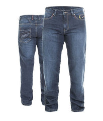 RST 2202 ARAMID VINTAGE II LONG LEG MENS MOTORCYCLE JEANS DARK WASH BLUE - RST -  - MSG BIKE GEAR - 1