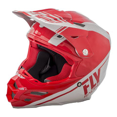 Fly Racing 2018 F2 Carbon Rewire MX Helmet - Red / Grey
